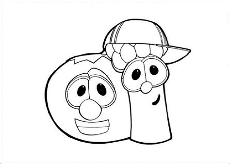 VeggieTales Coloring Pages Free