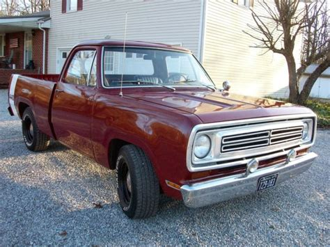 paint your tires to give your car a fashionable 1972 dodge d100 bed up 440 at drive home this