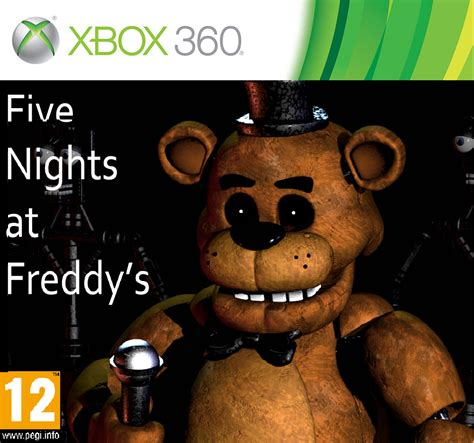 Five Nights At Freddys On Xbox 360 By Finster1234 On