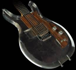 1969 Ampeg Dan Armstrong Clear Acrylic Electric Guitar ...