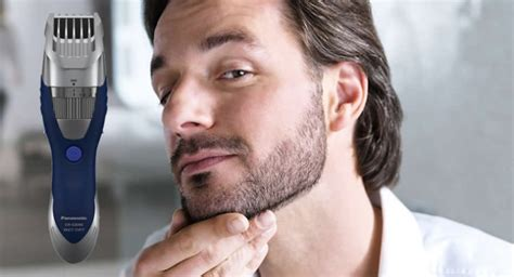 panasonic er gb  moustache beard trimmer review  electric