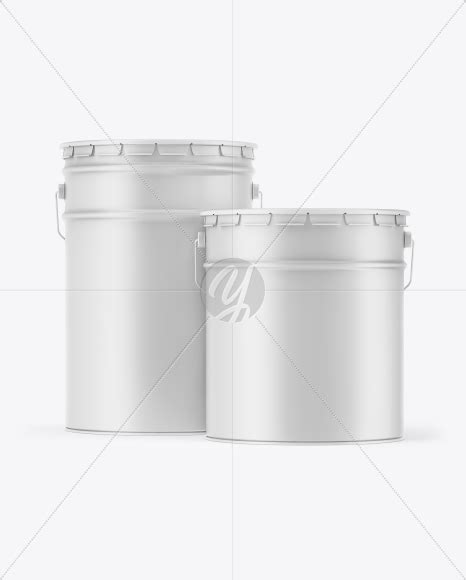 Overview use this mockup of matte bucket with chicken in front view for the most effective display of your design. Two Matte Paint Buckets Mockup in Bucket & Pail Mockups on ...