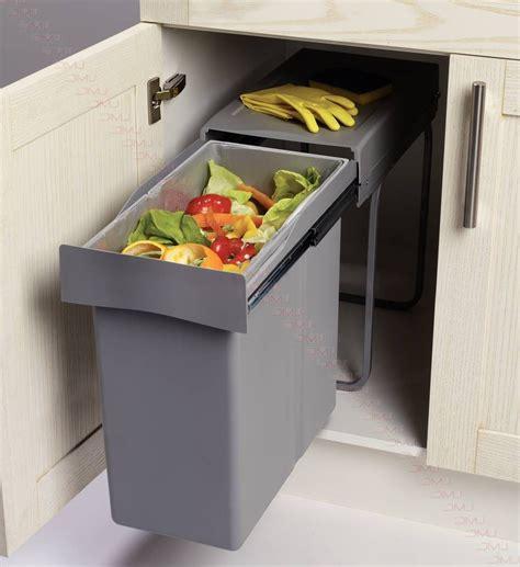 poubelle de cuisine coulissante monobac poubelle de cuisine coulissante monobac cuisine idées
