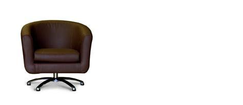 Swivel Tub Chair Fabric - brown faux leather swivel tub chair tubchairs