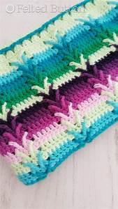 Crochet Pattern Afghan Throw Baby Blanket This Way