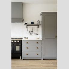 Beautiful Devol Shaker Cabinets Painted In 'lead', Classic