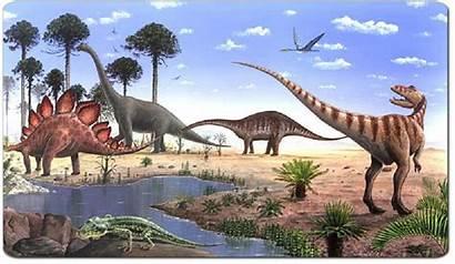 Era Mesozoica Secondaria Tierra Dinosaurios Universo Origen