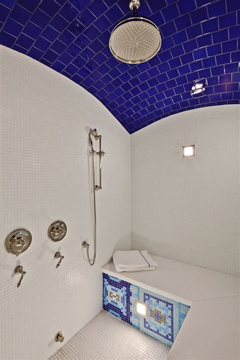 subway tile shower bench top five tips for best tile for shower floor homesfeed