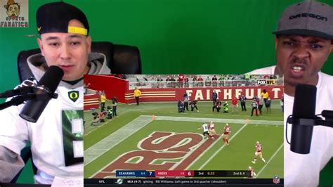 seahawks  ers reaction nfl week  game highlights