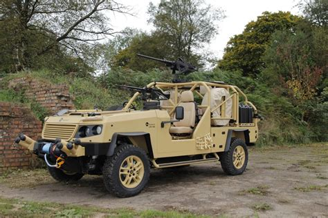 Supacat With Rheinmetall To Offer New Assault And Light