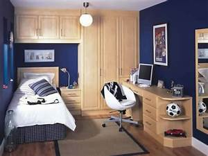 White Table Lamp On Bedside Black Table Boys Teenage