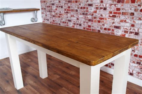 Rustic Farmhouse Breakfast Bar made from Reclaimed Timber