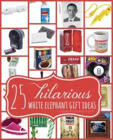 christmas white elephant gifts myideasbedroom com