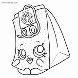 Coloring Shopkins Sheet Printable Teabag Colouring Coloringfolder Seasion Herb Shopkin sketch template