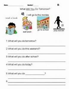 English worksheets: What will you do tomorrow?