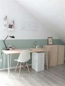 Wandgestaltung Büro Ideen : die 25 besten ideen zu arbeitszimmer auf pinterest b ro ~ Lizthompson.info Haus und Dekorationen