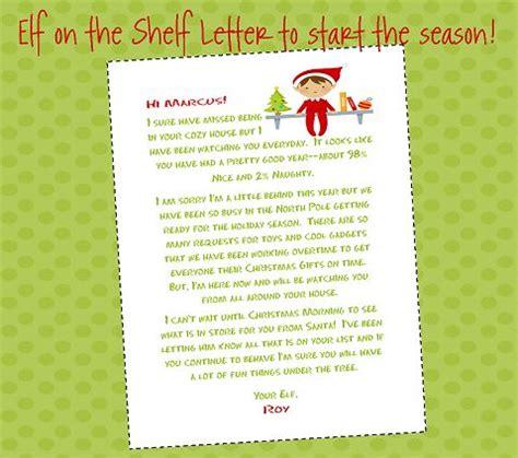 elf   shelf letter  start  season  elf