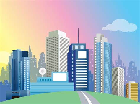 cities vectors  grid  buildings images background