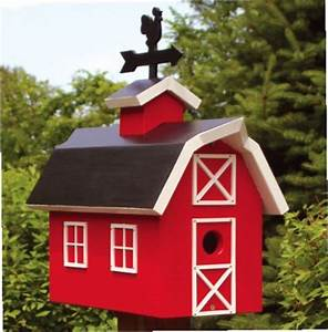 Barn Birdhouse Plans 19-W2804 - Barn Birdhouse