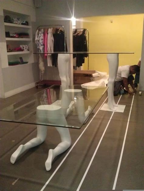 dress form rental los angeles tables made from mannequin legs for opening ceremony store