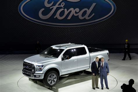 ford atlas concept signals   series fuel economy