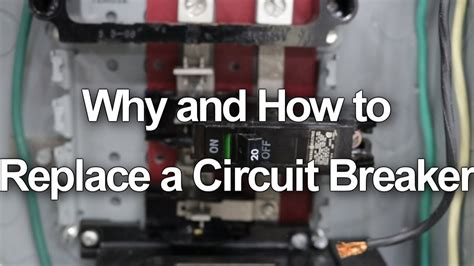 How Replace Change Circuit Breaker Your