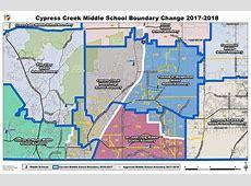 School Boundary Maps Cypress Creek MiddleHigh School