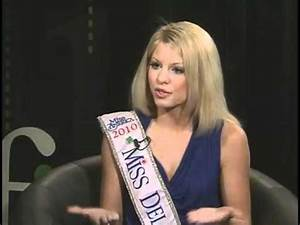 First Person: Miss Delaware Kayla Martell - YouTube
