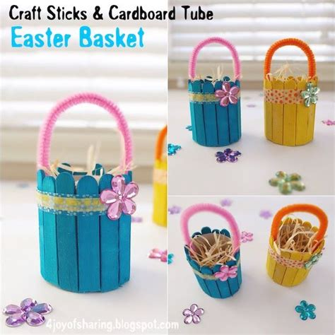 and easy easter basket craft holidays easter 199 | 30424d602a49a004482e9d476f66231f