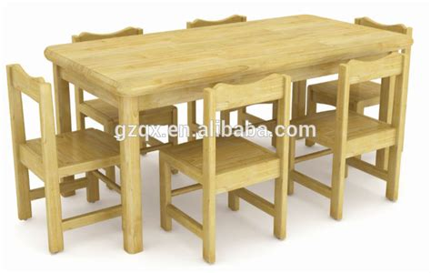 imported pine wood student table chair wooden children