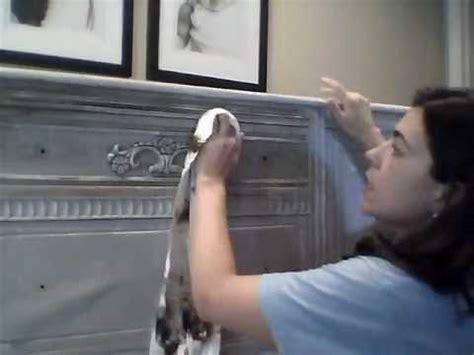 waxing furniture  dark  clear wax  annie sloan