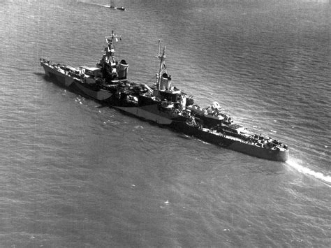 Sinking Ship Delivery Indianapolis by Uss Indianapolis Atomic Heritage Foundation