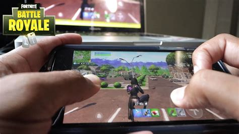fortnite mobile claw hand cam iphone   youtube