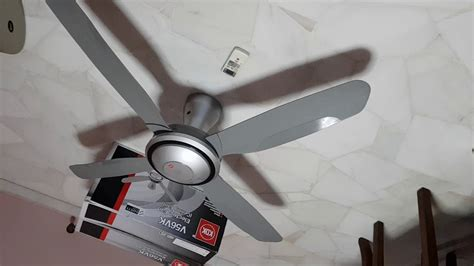 Kdk Ceiling Fan V56vk With Remote And Temperature Sensor
