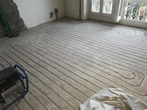 impianto termico a pavimento impianto radiante a pavimento spessore zero impianti