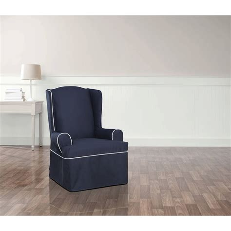 oversized wingback chair slipcovers sofa recliner sure fit recliner covers for easy stretch