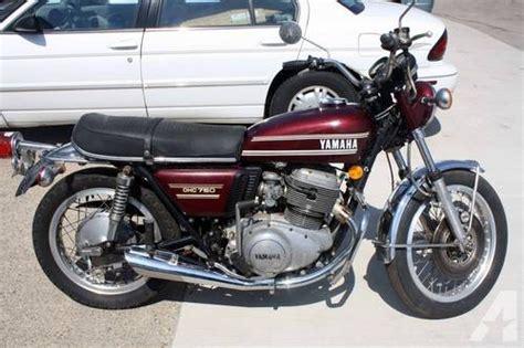 1974 Yamaha 750 Ohc Motorcycle