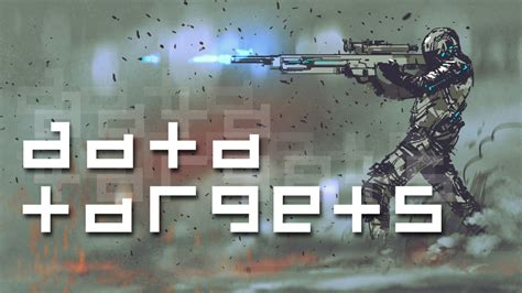 data targets  printed sci fi miniatures objectives