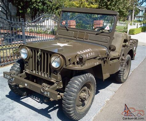 military jeep willys for sale 1964 willys military jeep ma mb m38 m38a1 factory photo