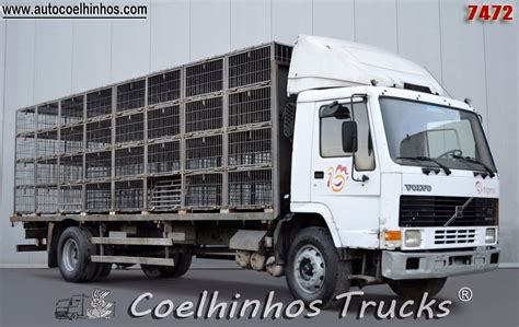 volvo transport truck volvo fl7 280 animal transport trucks price 163 5 819