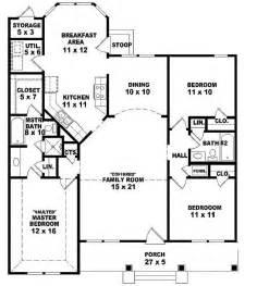 3 bedroom 2 bath house plans 654069 one 3 bedroom 2 bath ranch style house plan house plans floor plans home