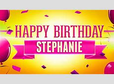 Birthday Stephanie Happy Daughter 1