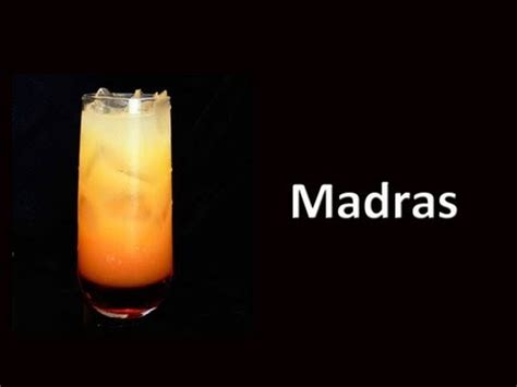 madras drink madras cocktail drink recipe youtube