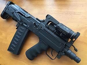 Classic AK47 meets modern bulpup | Firearms | Guns, Hand ...  Gun