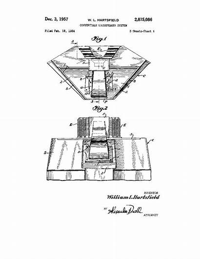 Hartsfield Jbl Speakers Audio Patent Jubilee Lookalikes