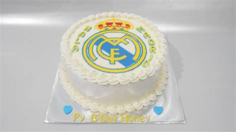 Real Madrid Cake Decorating Easy