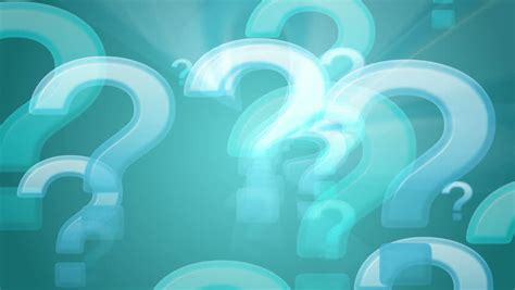 question mark looping background stock footage video