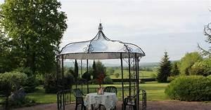 Gloriette En Fer Forgé : la gloriette de jardin petit pavillon au coeur du jardin ~ Premium-room.com Idées de Décoration