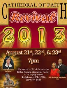 Church Revival Flyers