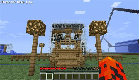 glass house  minecraft project
